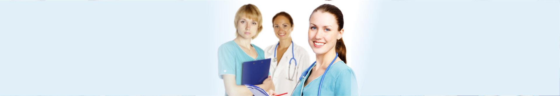 registered nurses smiling